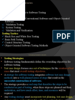 Software testing fundamnetal