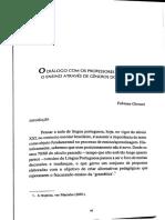 O DIALOGO COM OS PROFESSORES - FABIANA GIOVANI