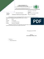 Surat Undangan Program UKM