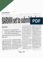 Manila Standard, Sept. 26, 2019, BARMM set to submit budget.pdf