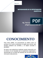 Metodologia de La Ciencia y La Investigación