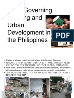 Laws Governing Housing and Urban Developm