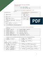 Formulario  cálculo integral Gass
