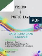 Presbo n Partus Lama