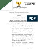 Permenpan No. 15 Thn 2014 Ttg Pedoman Standar Pelayanan