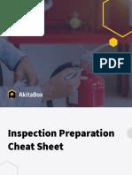 Inspections Checklist FINAL