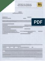 Modelo Oficial Para Elaboração Contrato Trabalho