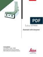Leica SP9000 Manual En
