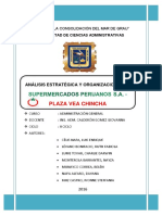 ANALISIS ESTRATEGICO SUPERMERCADOS PERUANOS
