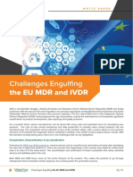 Challenges Engulfing the EU MDR and IVDR