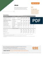 Geomembrane Technical Data