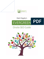 Evergeen Onsite SEO Guide