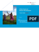 Guide Basic Course DRR Volume 1 2014 SDC WFP