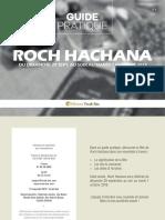 Guide Roch Hachana Torah Box (5780)