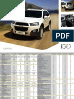 chevourlet Captiva-Specification Sheet.pdf