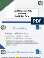 Tugas1 Presentasi Summary