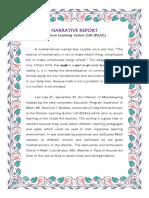 Narrative Report Dlac