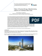 Mistral Tower Value of System Design, Manufacturing and Installation in Cold Bent SSG Units