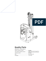 BT Reach Truck PARTS Manual - RRE200CC