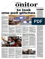 CBCP Monitor May Vol23 No10
