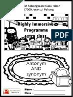 Antonym and synonym booklet.pptx