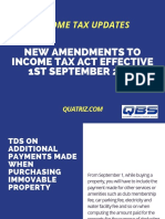 Amendments to IT act from 01st September