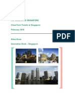 CleanTech Trends in Singapore