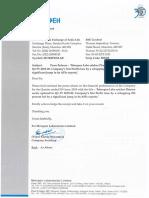 Morepen Laboratories Press Release Q1