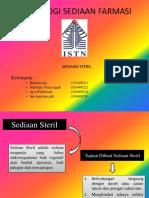 Ppt Sediaan Steril-1