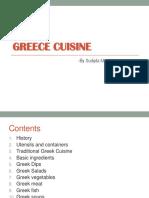 Greece Cuisine
