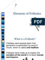 Elements of Folktales Keynote