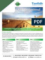Tanfidh (KPI Professional) (8 - 10 Oct 2019)