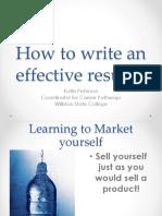 Resume Workshop Powerpoint