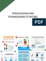 Pencegahan Dan Penanganan Stunting