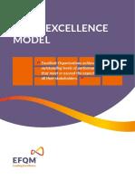 EFQM Excellence Model 2013