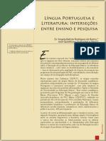 Língua Portuguesa e Literatura-Interseções