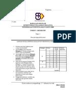 SPM Mid Year 2008 SBP Chemistry Paper 2