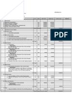 Sample Cost Estimate 2018