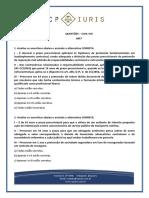 CP Iuris - Civil VIII - MP7 - Questoes