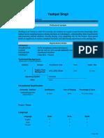 Yashpal Profile SD GTS
