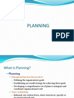 concepts of planning