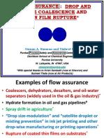 Flow Assurance - Prof. Osman Basaran