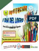 Invitacion - Dia Del Logro 3