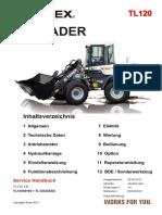 TL120 AbTL120!3!0100 Service Handbuch Terex 01-2014 De