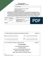 Evaluación Consonantes l, m, p