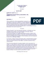 Pedragoza vs. Comelec, 496 Scra 513