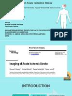 Imaging of Acute Ischemic Stroke -
