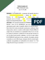 MODELO Nro 14 Venta de Casa (1)