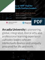 2019 09 25 - Arcadia University Keynote - Data as ATP Fuel -VFinal2