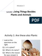 Module 3 Other Living Things Besides Plants and Animals